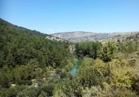 río Tajo aguas turquesas